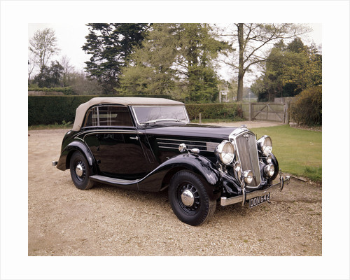 A 1937 Wolseley Super Six by Anonymous