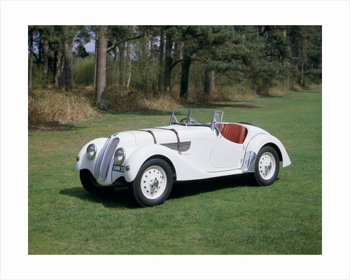 A 1937 BMW 328 by Anonymous