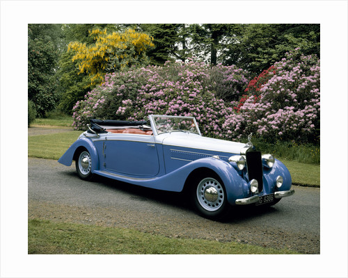A 1937 Delage D6-75 Sport DHC by Anonymous