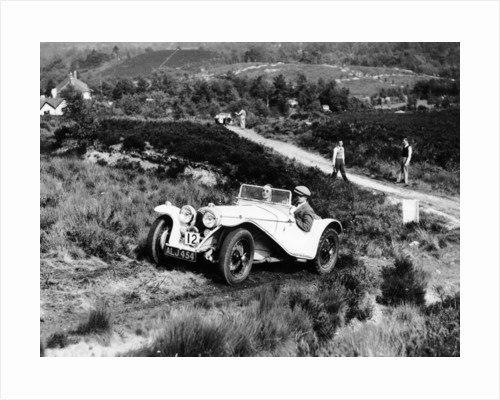 1935 Riley Imp 9hp competing in the Lawrence Cup Trial by Anonymous