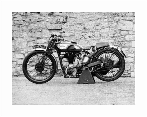 Norton motorbike, an International Model 30 by Anonymous