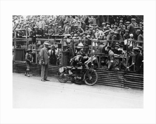 Alec Bennett at the Senior TT, 1924 by Unknown
