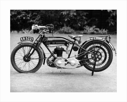 1926 Ariel motorbike by Anonymous