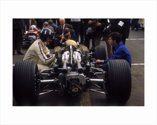 Graham Hill, (mid 1960s?) by Unknown