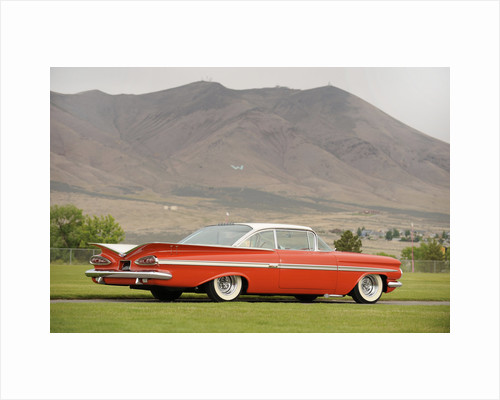 Chevrolet Impala Bubble top 1959 by Simon Clay
