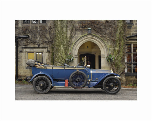 Napier open tourer 1913 by Simon Clay
