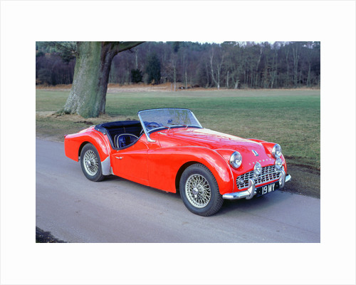 1959Triumph TR3A by Unknown