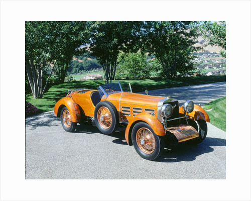 1924 Hispano Suiza tulip wood h6c by Unknown