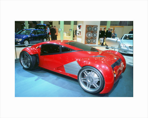 2002 Lexus electric concept car used in 'Minority Report' film by Unknown