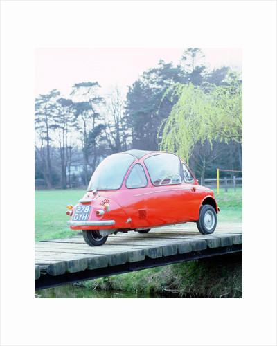 1962 Trojan 200 Heinkel bubble car by Unknown