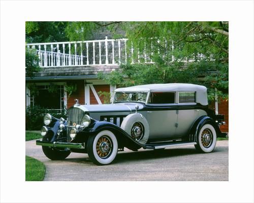1930 Pierce Arrow 7 passenger phaeton by Unknown