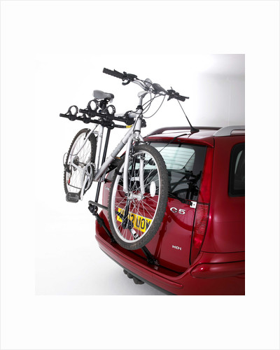 Rear mounted cycle rack by Unknown
