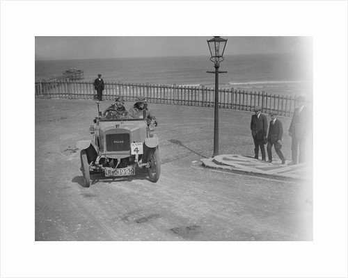 Pilot car at the seaside by Bill Brunell