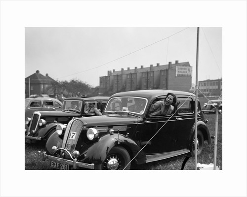 1938 Standard Flying Fourteen at the Standard Car Owners Club Gymkhana, 8 May 1938 by Bill Brunell