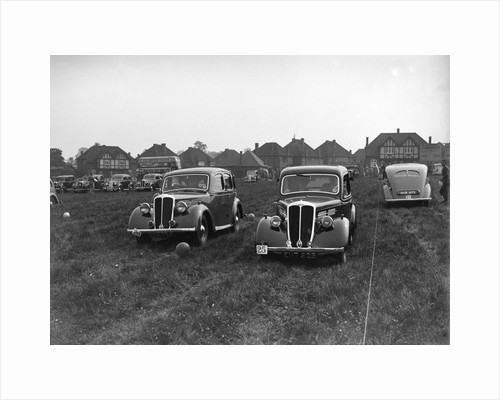 Standard Flying Twelve and Flying Nine at the Standard Car Owners Club Gymkhana, 8 May 1938 by Bill Brunell