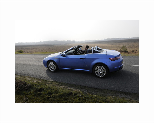 2006 Alfa Romeo Spyder driving in New Forest by Unknown