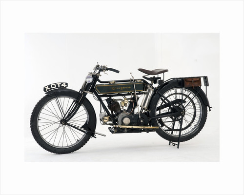 1914 Royal Enfield 3hp motorcycle by Unknown