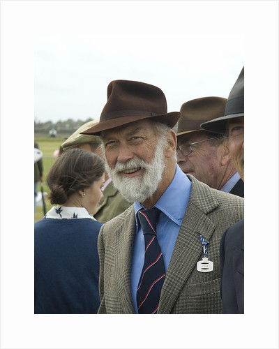 2011 Goodwood Revival Meeting, Prince Michael of Kent enjoys the attractions by Unknown