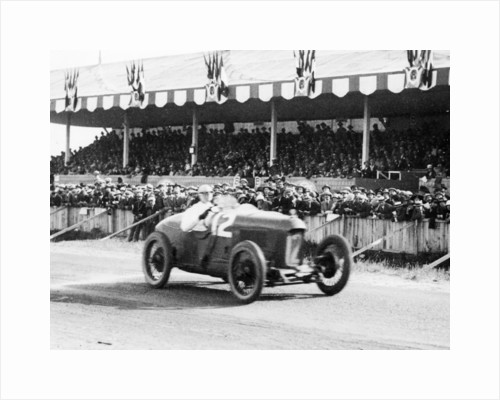 1923 French Grand Prix, Henry Segrave in Sunbeam by Unknown