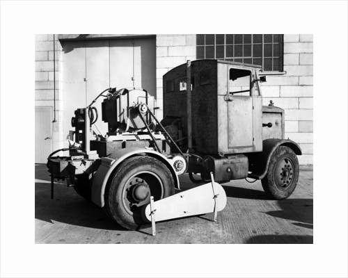 1946 Scammell Chain drive Special tractor by Unknown