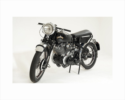 1957 Vincent Black Shadow by Unknown