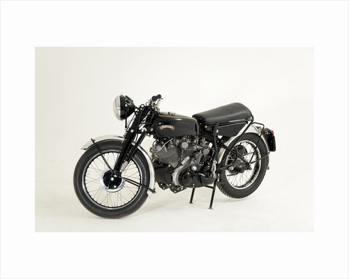 1958 Vincent Black Shadow by Unknown