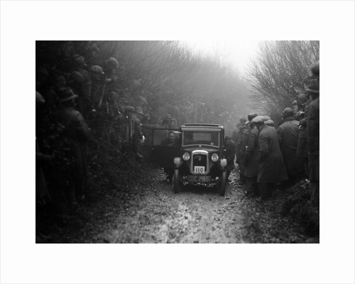 Austin top hat saloon of EC Smyth competing in the MCC Exeter Trial, Meerhay, Dorset, 1930 by Bill Brunell