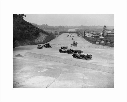 BARC 6-Hour Race, Brooklands, Surrey, 1929, by Bill Brunell