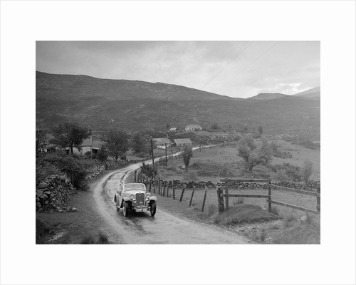 Singer Nine Sports of Miss MC Sherer competing in the RSAC Scottish Rally, 1936 by Bill Brunell