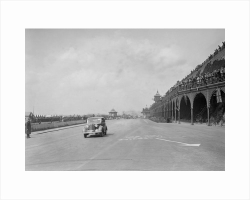 Vauxhall 14-6 of GL Boughton on Madeira Drive, Brighton, RAC Rally, 1939 by Bill Brunell