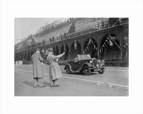 Morris open 2-seater of MC Browning on Madeira Drive, Brighton, RAC Rally, 1939 by Bill Brunell