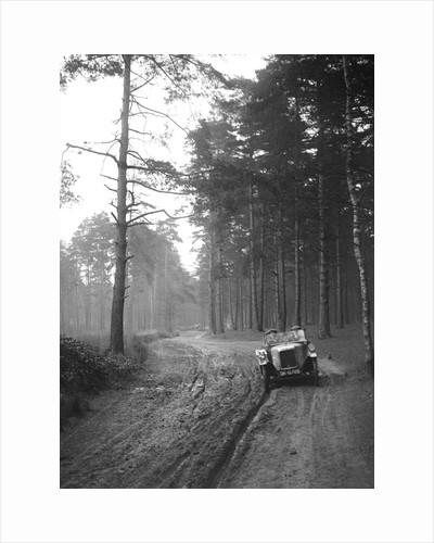 BSA taking part in the JCC General Efficiency Trial, Oxshott Woods, Surrey, 1923 by Bill Brunell