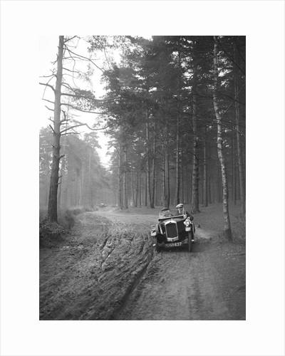 GN of C Finch taking part in the JCC General Efficiency Trial, Oxshott Woods, Surrey, 1923 by Bill Brunell
