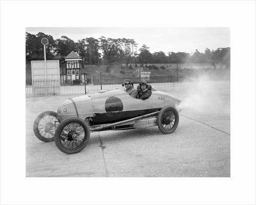 ABC of Eric Gordon England, JCC 200 Mile Race, Brooklands, 1921 by Bill Brunell