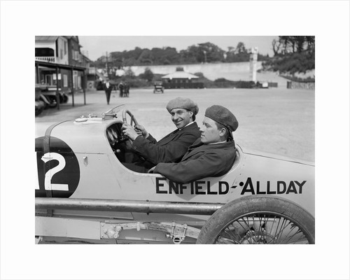Enfield-Allday of Woolf Barnato at the JCC 200 Mile Race, Brooklands, 1922 by Bill Brunell