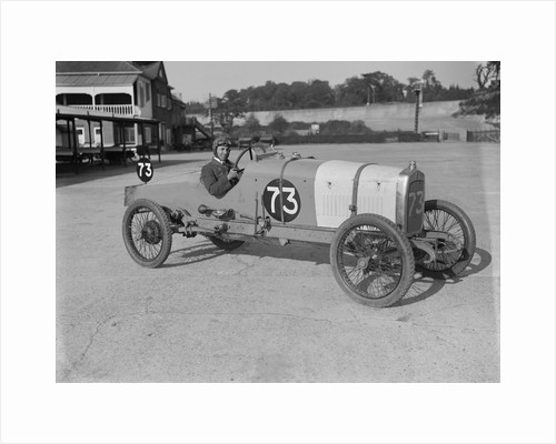 Enfield-Allday of J Chance, JCC 200 Mile Race, Brooklands, 1921 by Bill Brunell