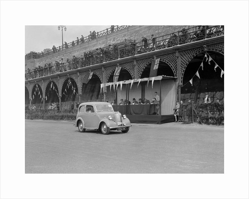 Standard Flying 8 of J Yates at the RAC Rally, Madeira Drive, Brighton, 1939 by Bill Brunell