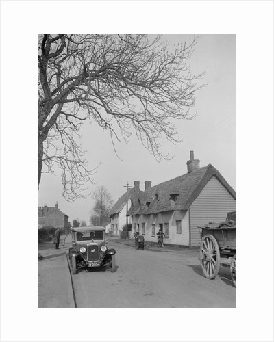 Austin 16/6 Burnham, High Roding, South of Great Dunmow, Essex, 1930s by Bill Brunell