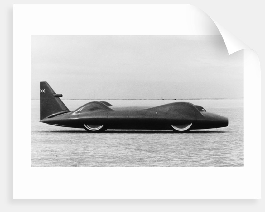 The Bluebird CN7 at Lake Eyre by Anonymous