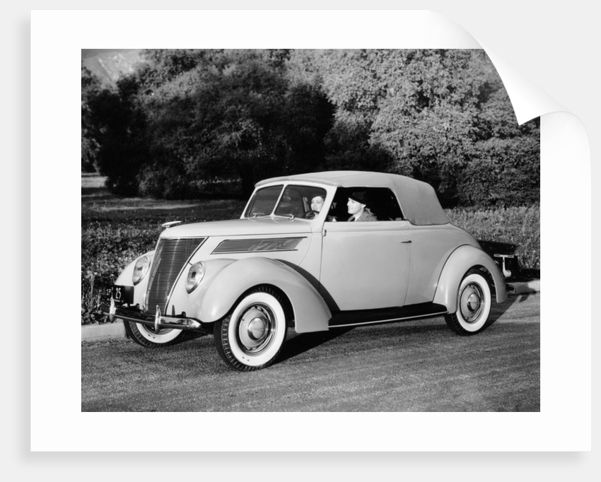 1937 Ford V8 model 78 lub Cabriolet by Anonymous