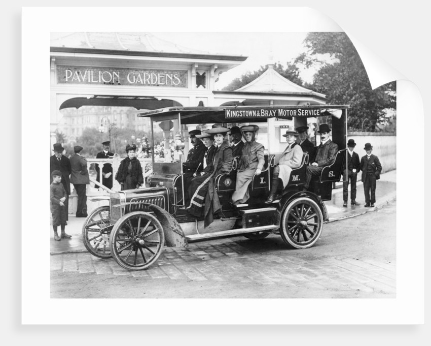 1906 Albion A3 12-seater charabanc by Anonymous