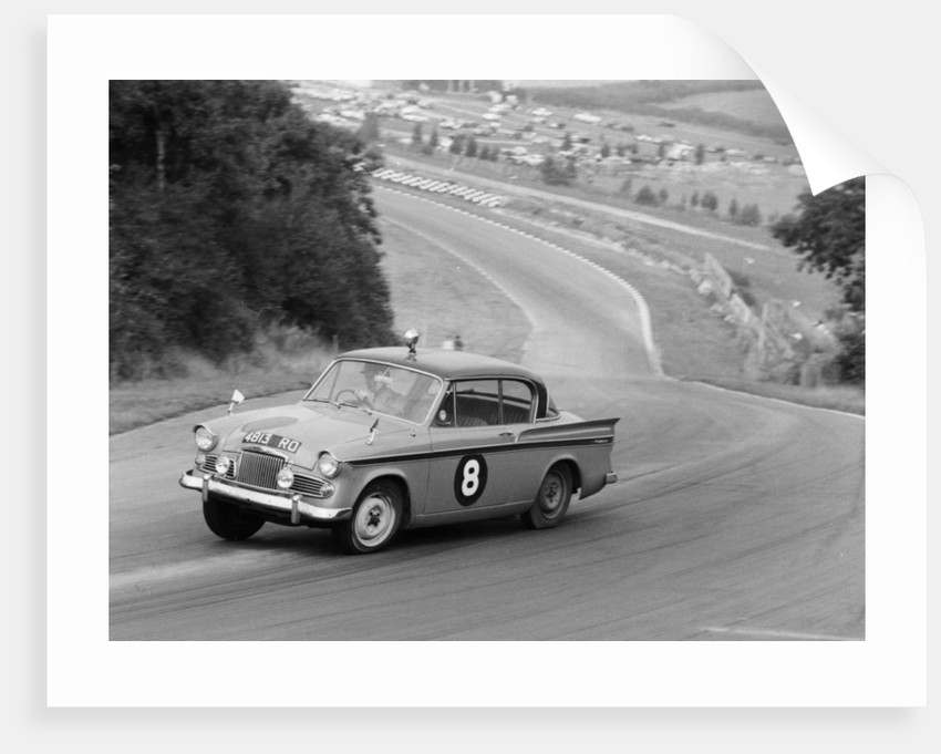 Sunbeam Rapier racing at Brands Hatch by Anonymous