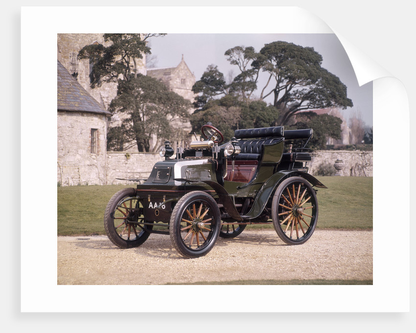 1899 Daimler horseless carriage by Unknown