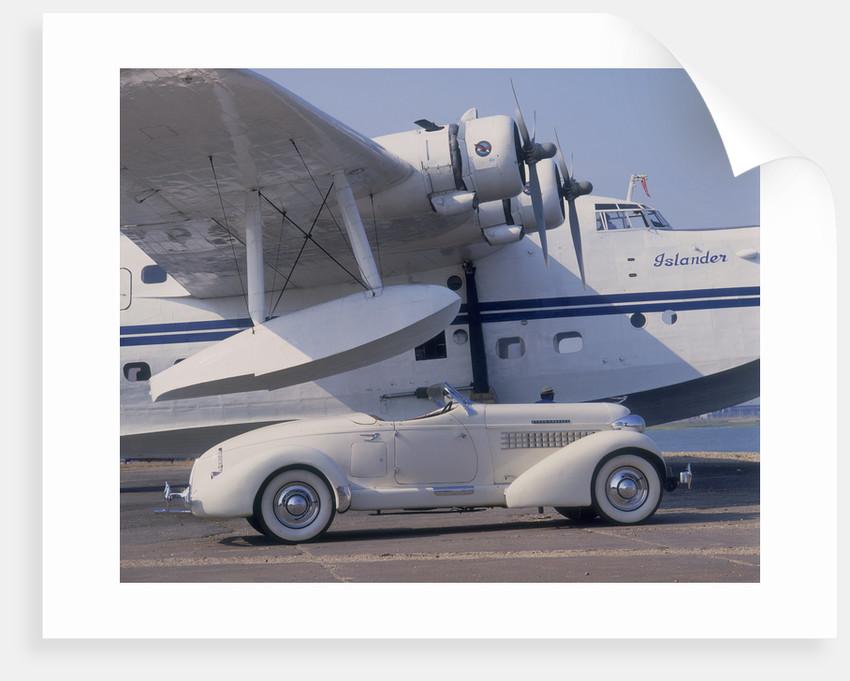 1935 Auburn 851 Speedster by Unknown