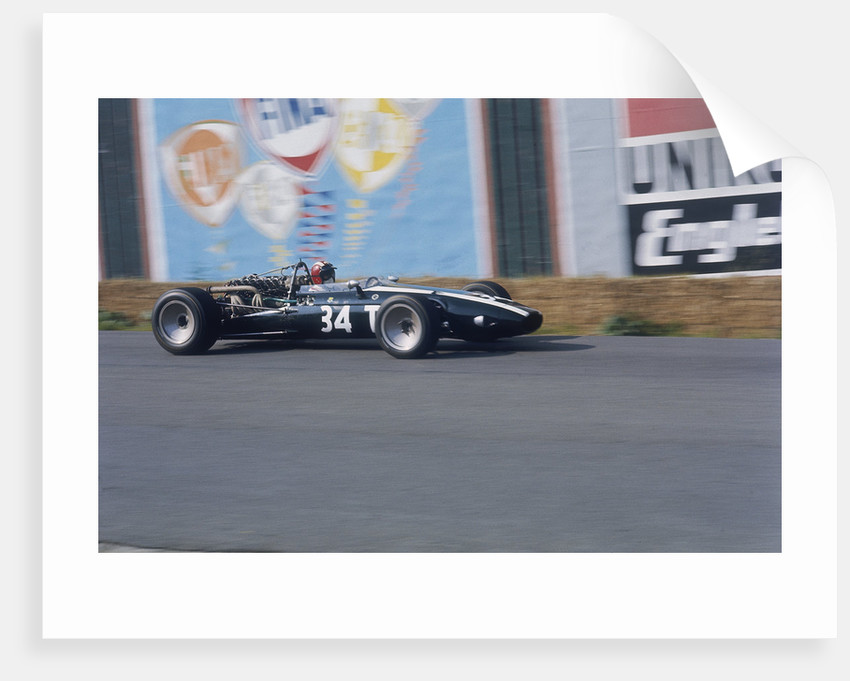 Jo Siffert in Cooper Maserati by Anonymous