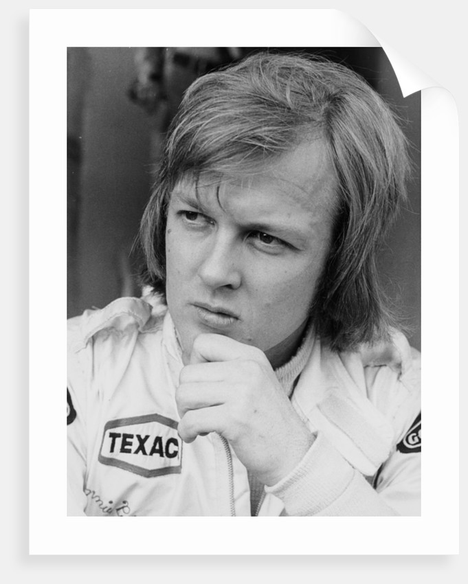 Ronnie Peterson by Anonymous