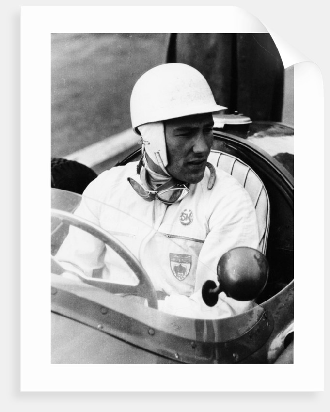 Stirling Moss at Goodwood, 1954 by Unknown