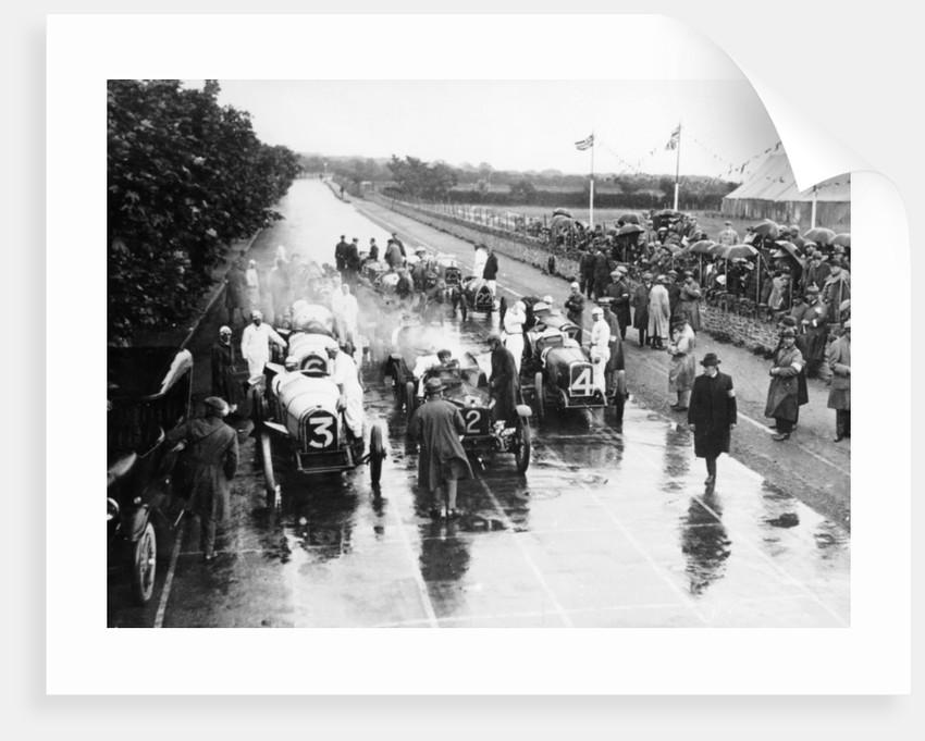 Start of a TT race,1922 by Unknown