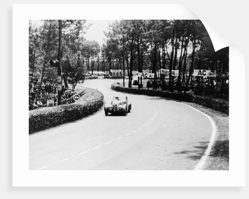 1939 Bentley Corniche at Le Mans, France, 1951 by Unknown