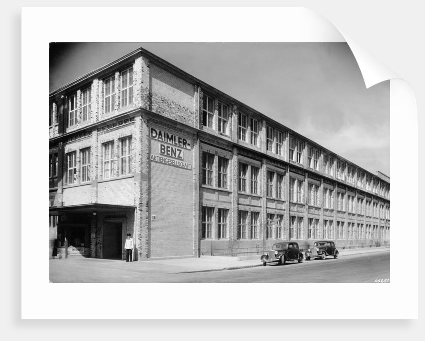 The Daimler-Benz factory, Stuttgart, Germany, c1950 by Unknown